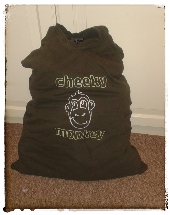 """Cheeky Monkey"" Laundry Bag"